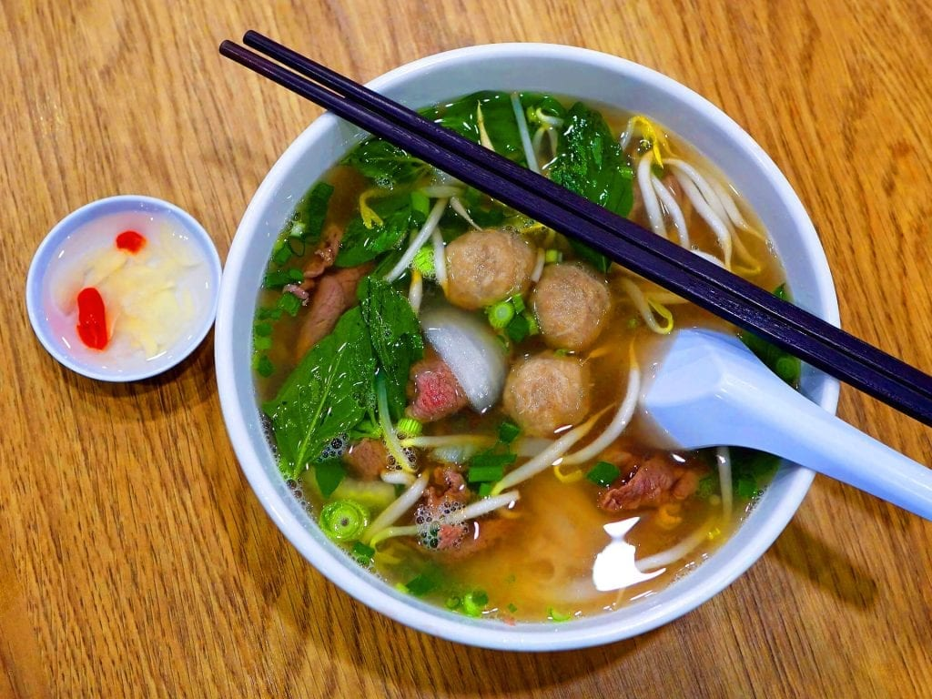 Rundreise Vietnam - Pho Suppe