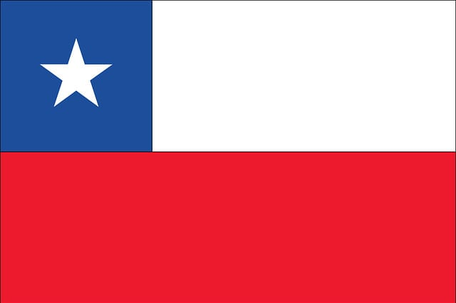 Rundreise Chile - Flagge