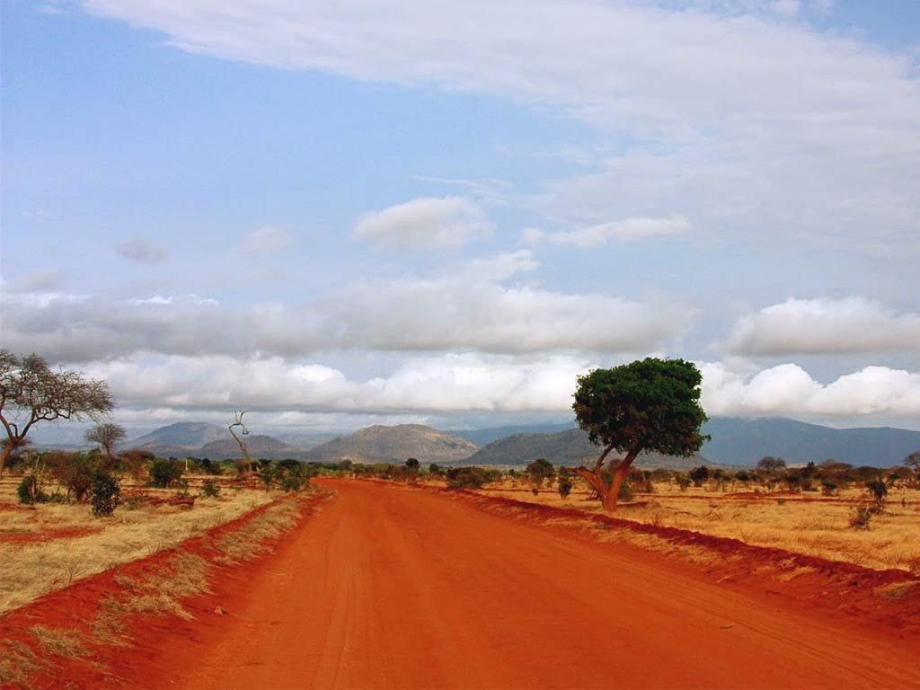 Landschaft, Nationalpark in Momasa, Kenia