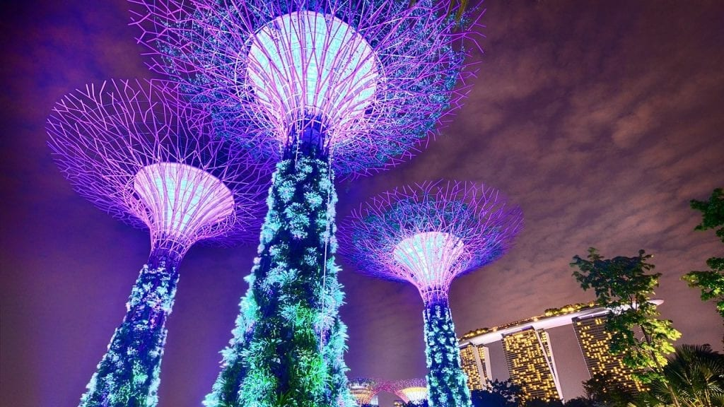 Stopover Singapur - Gardens by the Bay