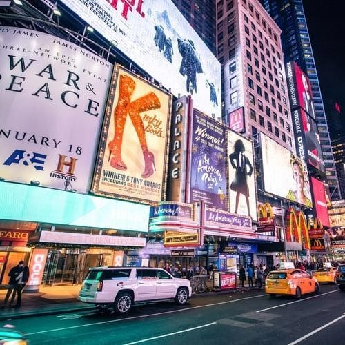 Konzerte, Shows & Musicals in New York City: Moulin Rouge auf dem Broadway erleben
